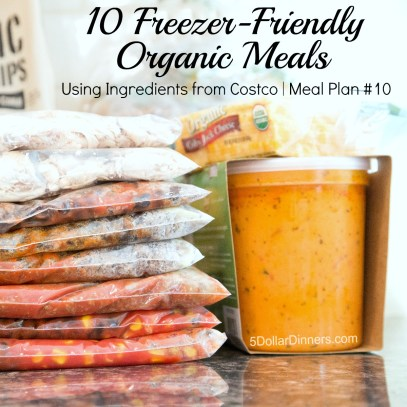 NEW Organic Meal Plan - 10 Organic Meals from Costco for $100