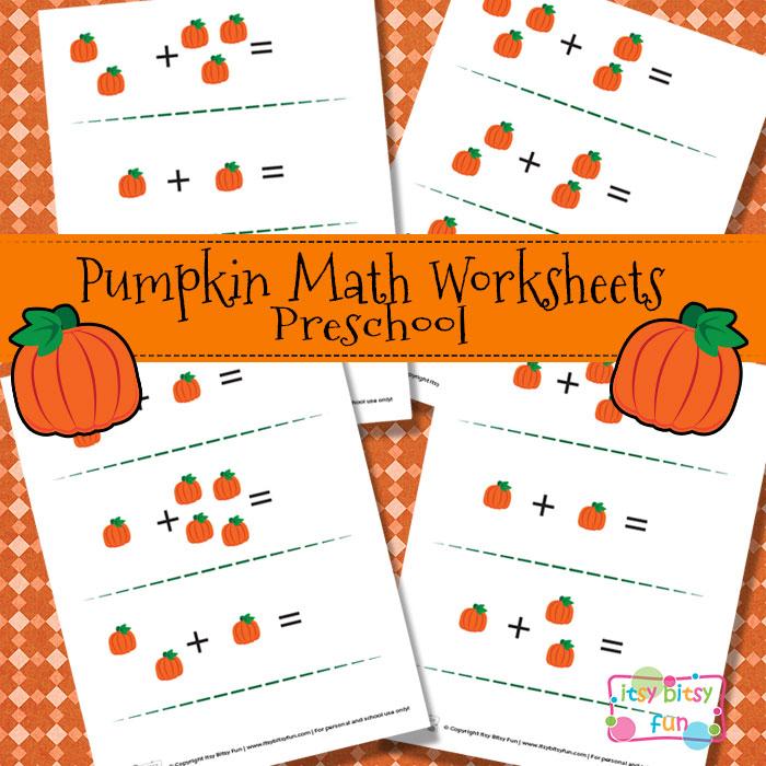 FREE Pumpkin Math Worksheets | Free Homeschool Deals ©