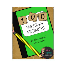 100 FREE WRITING PROMPTS!