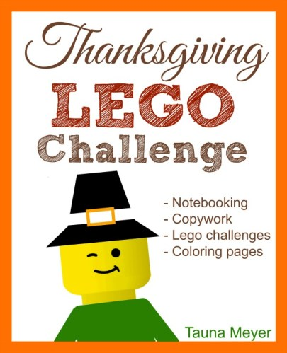 Free Thanksgiving Lego Challenge