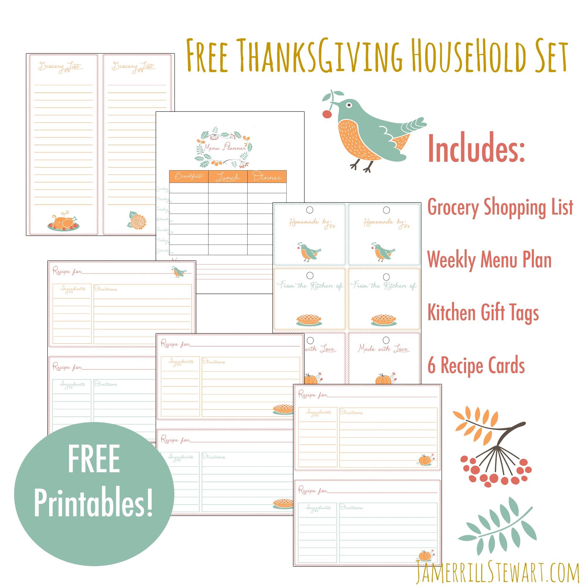 Shopping List For Thanksgiving Preschool Worksheet