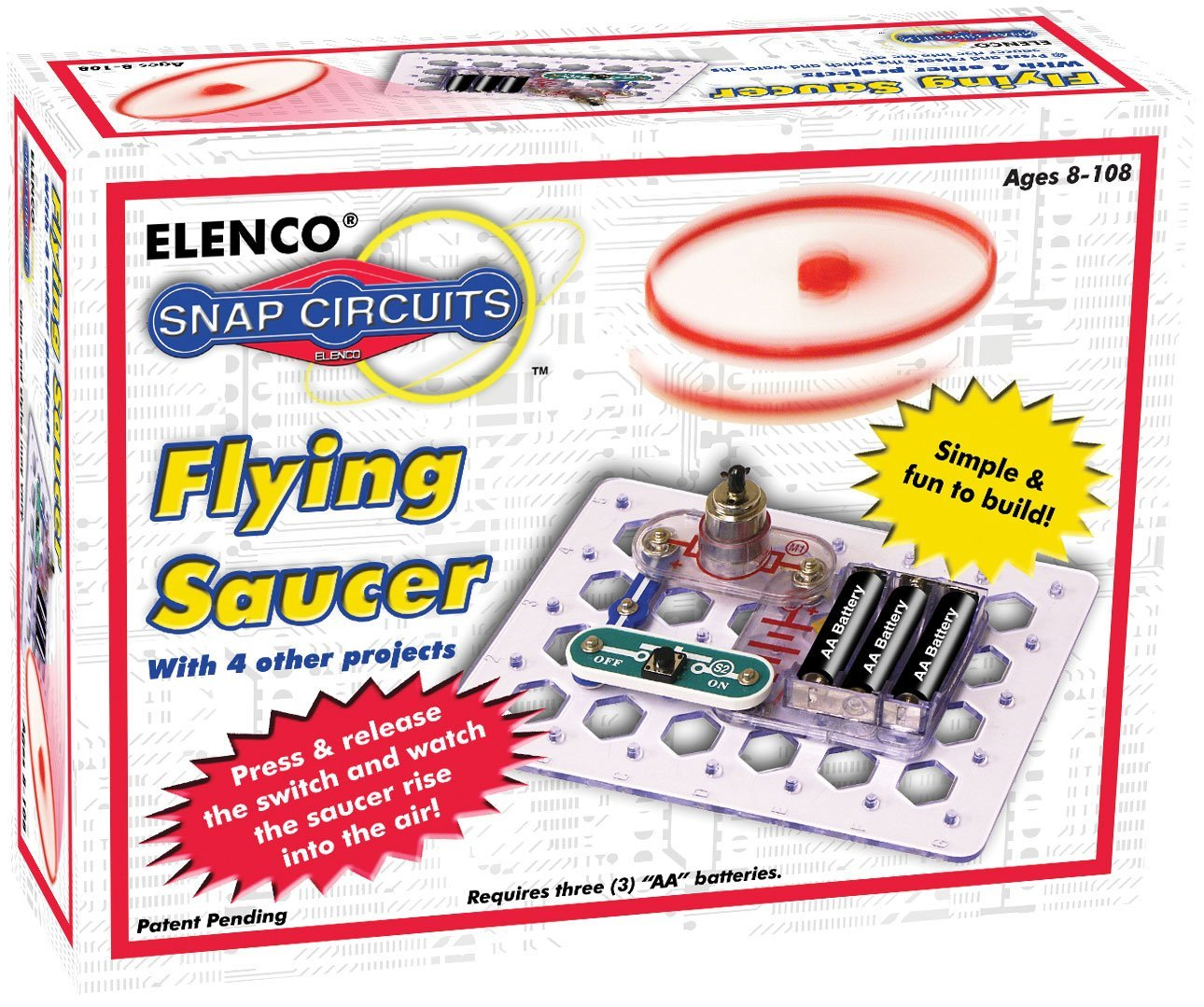 Snap Circuits Flying Saucer Kit Only 11 99 Reg 15