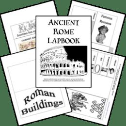FREE Ancient Rome Lapbook