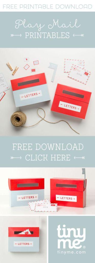 FREE Mail Printables
