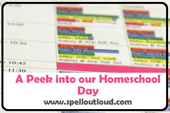 Homeschool Day at Spell Outloud