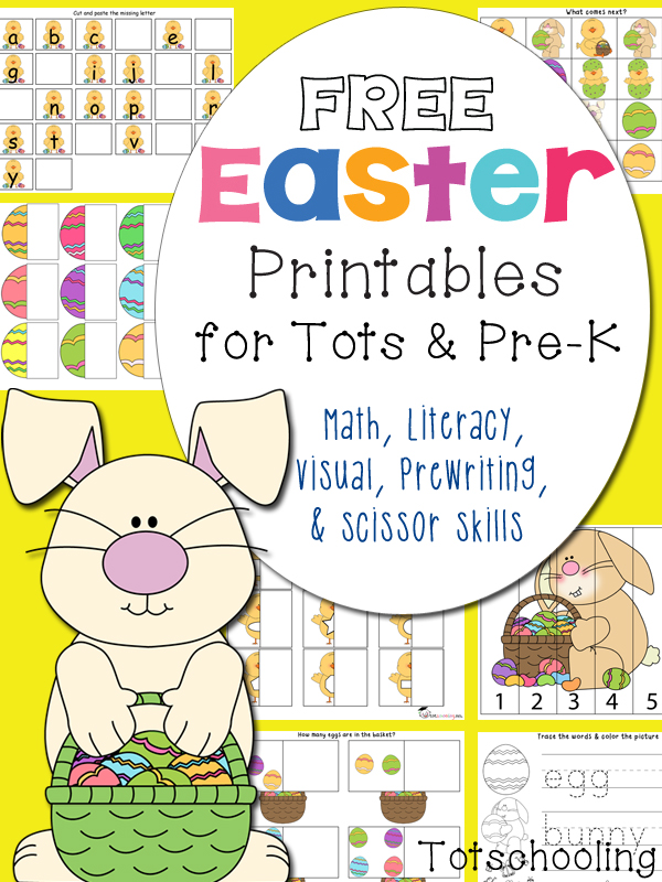 FREE Easter Printables Pack Free Homeschool Deals