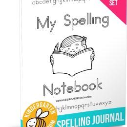 FREE My Spelling Notebook