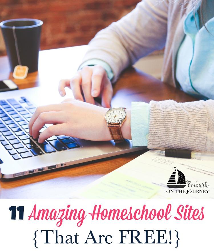 FREE Homeschool Sites
