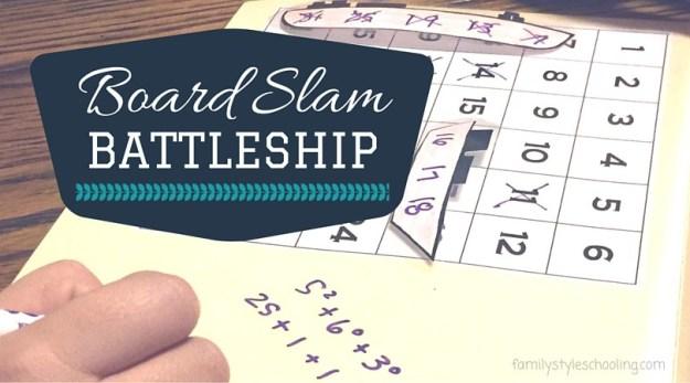 Board Slam Battleship