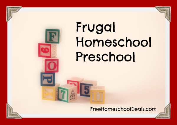 Frugal Homeschool Preschool