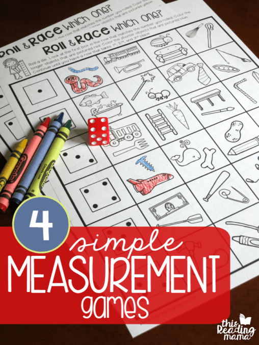 FREE Simple Measurement Games