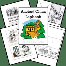 FREE Ancient China Lapbook