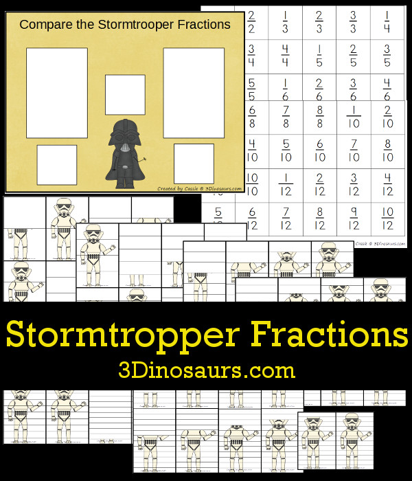 FREE Stormtrooper Fractions Pack