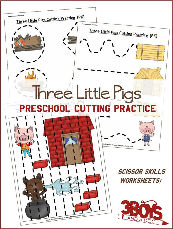 FREE Three Little Pigs Pack