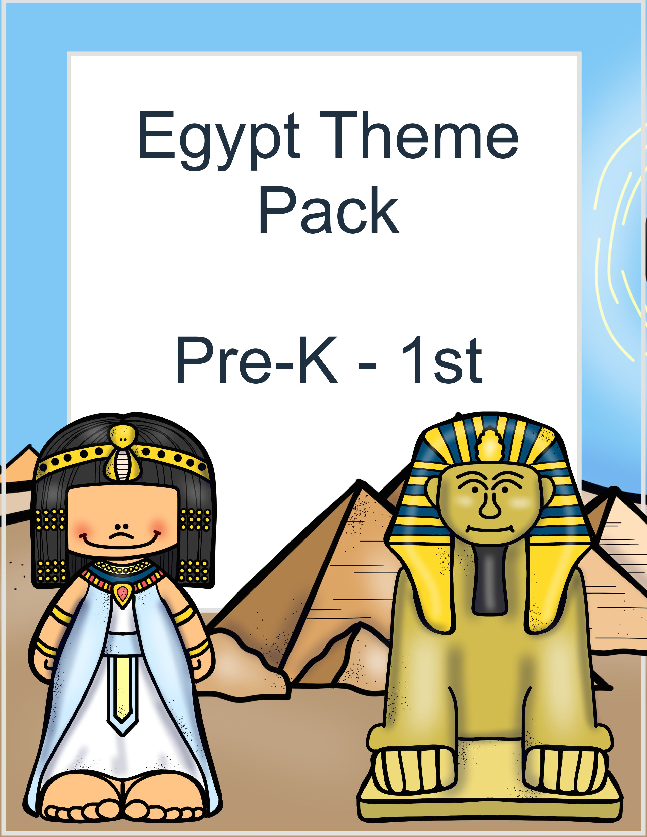 Free Egypt Themed Pack