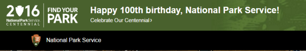 National Park 100th Birthday