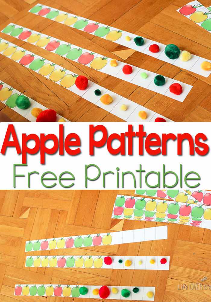 It's just an image of Comprehensive Apple Pattern Printable