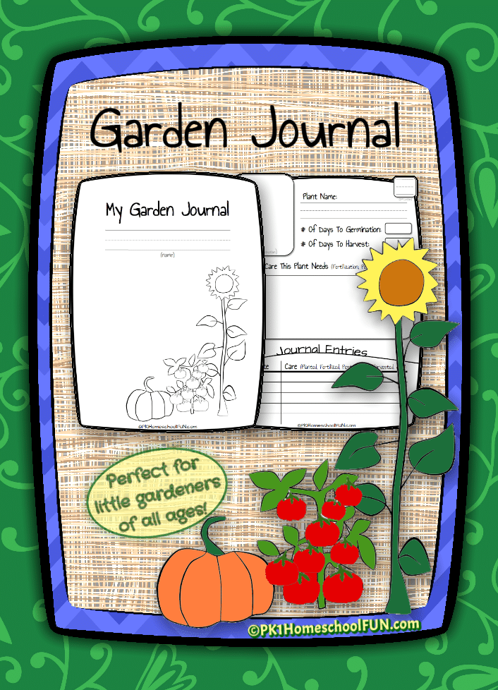 FREE Gardening Journal for Kids