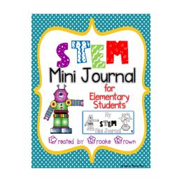 FREE STEM Mini Journal for Elementary Students!