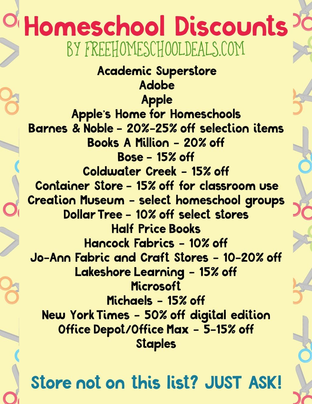 25 New Homeschool Freebies Amp Deals For You