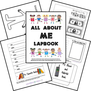 FREE All About Me Lapbook