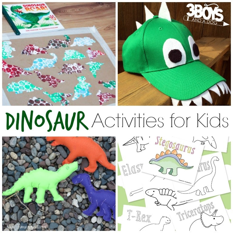 FREE Dinosaur Activities for Kids