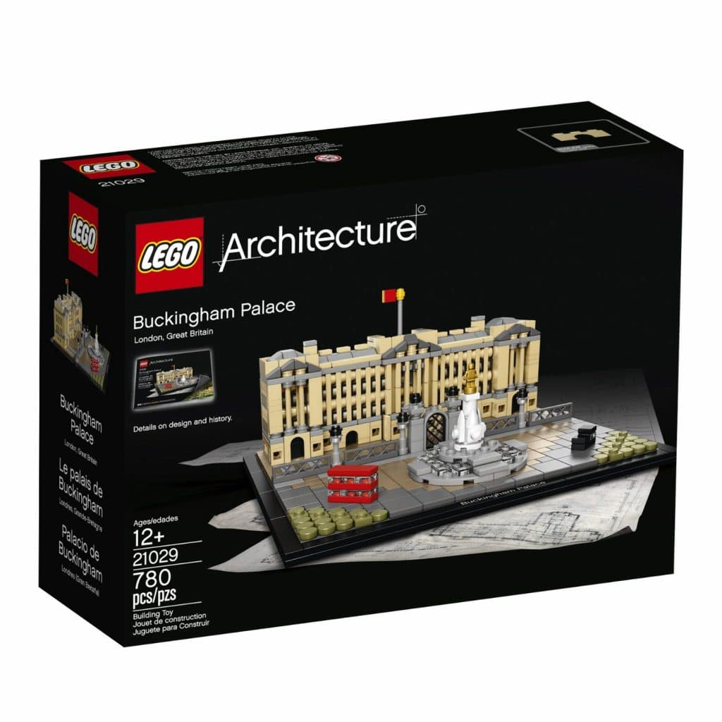Lego Architecture Buckingham Palace Kit Only 36 Reg