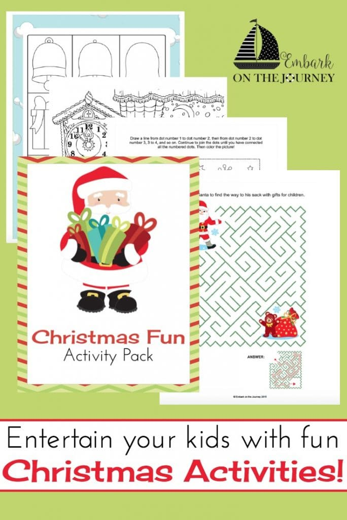 christmas activities to do with the kids while they wait for santa 3