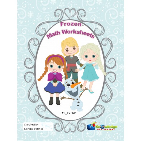 Free Frozen Math Worksheets
