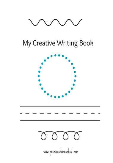 Free My Creative Writing Book Printables