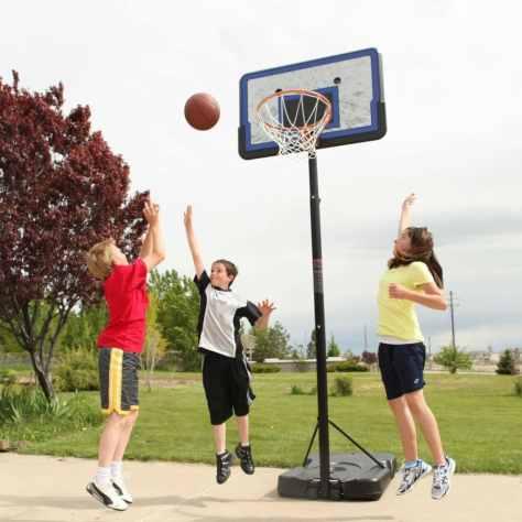 Lifetime Pro Court Adjustable Portable Basketball Hoop Only $99! (Reg. $125!)