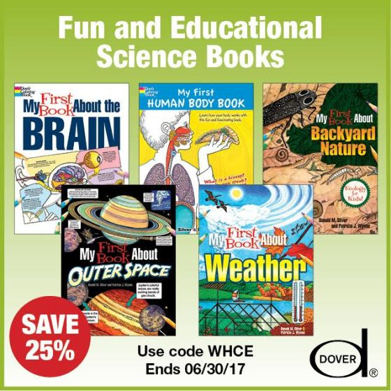 25% Off Fun & Educational Dover Activity Books!