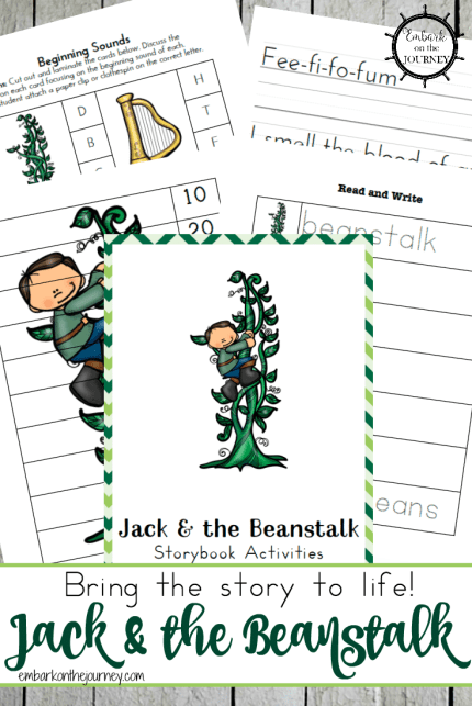 Free Jack and the Beanstalk Printables