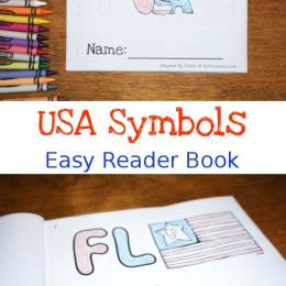 Free USA Symbols Easy Reader Book