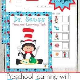 Free Dr. Seuss Preschool Printable Pack