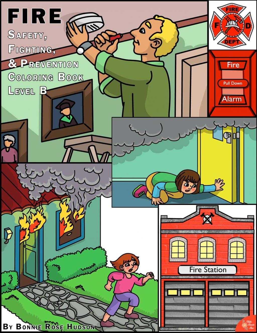 Free Fire Safety & Prevention Coloring Book - Limited Time! | Free ...