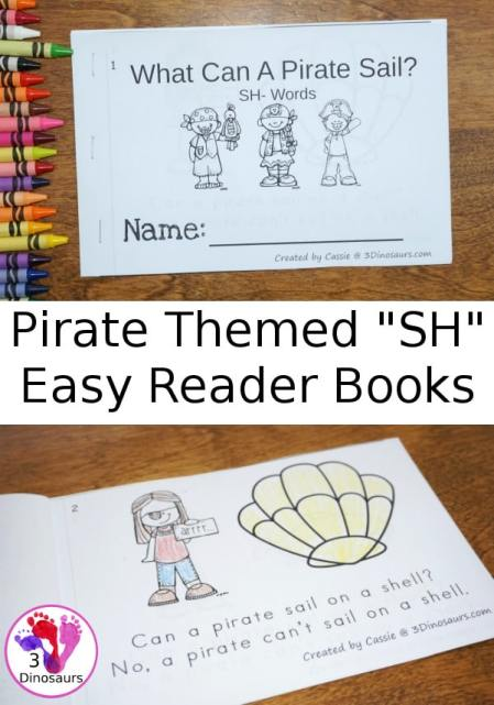Free What Can A Pirate Sail? Easy Reader