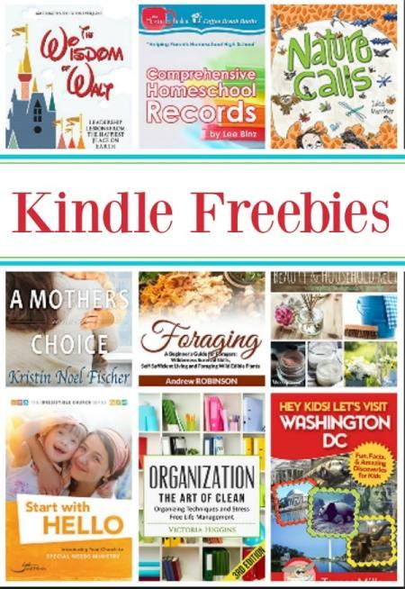 15 Kindle Freebies: Comprehensive Homeschool Records, Wisdom of Walt, & More!