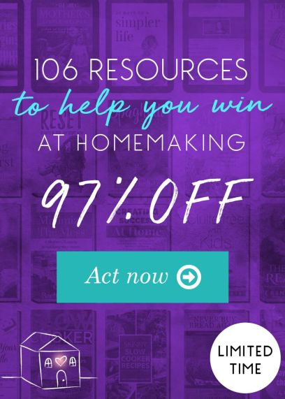 Ultimate Homemaking Bundle Flash Sale - Only $29.97! (97% Off!)
