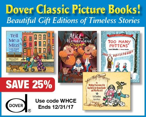 25% Off Dover Classic Picture Books