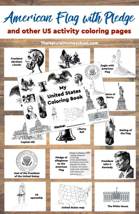 Free United States Coloring Book