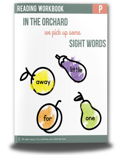 Free Sight Words Workbook (40 Pages)