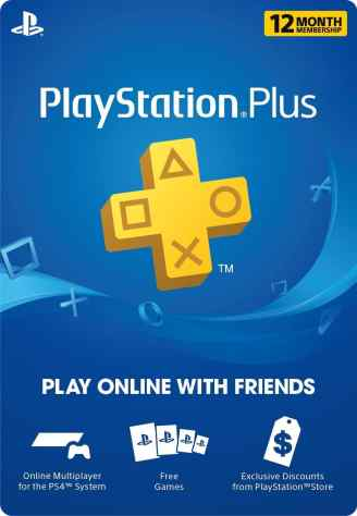 One Year Play Station Plus Membership Only $39.99! (Reg. $60!)