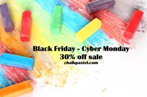 30% Off Storewide at ChalkPastel.com