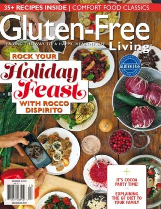 Gluten-Free Living Magazine Only $12.99/Year! (75% Off!)