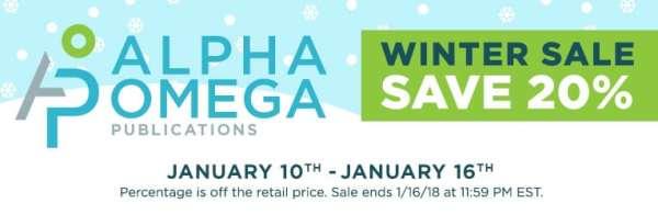 20% Off Alpha Omega Homeschool Curriculum