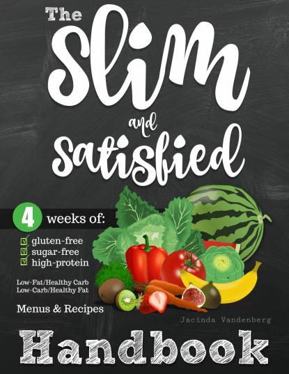 The Slim & Satisifed Handbook Only $9.99! (Reg. $12.99)