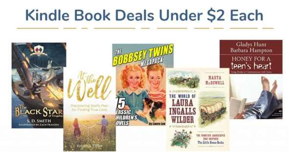 12 Awesome Kindle eBook Deals Under $2 Each!