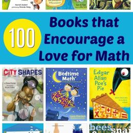 100 Books To Encourage a Love for Math