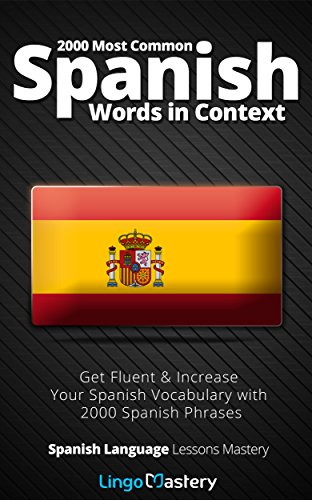 2000 Most Common Spanish Words